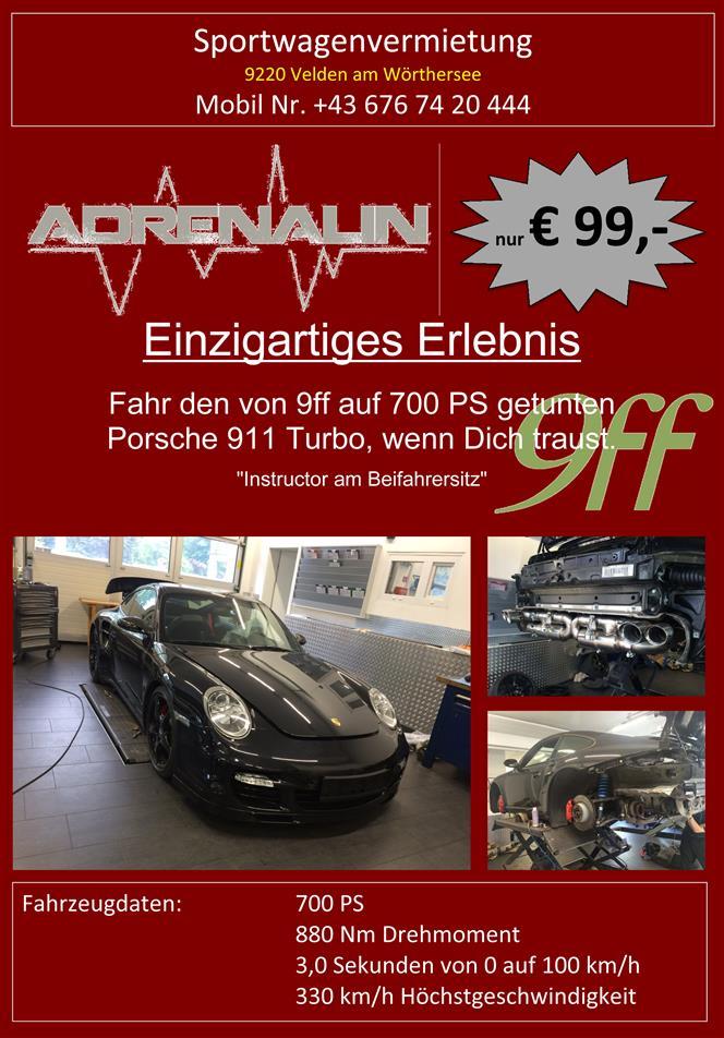 Vermietung Porsche 911 Turbo